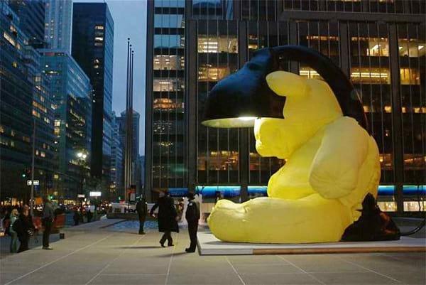 مجسمه برنزی (2)