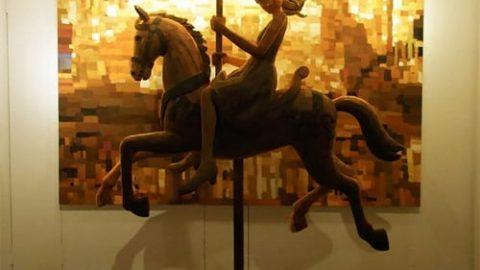 مجسمه هایی که در تابلوهای نقاشی زندگی می کنند!