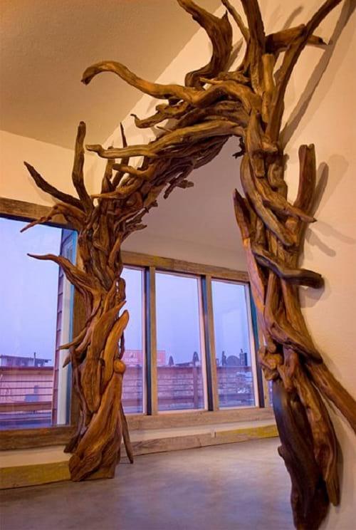 مجسمه چوبی (23)