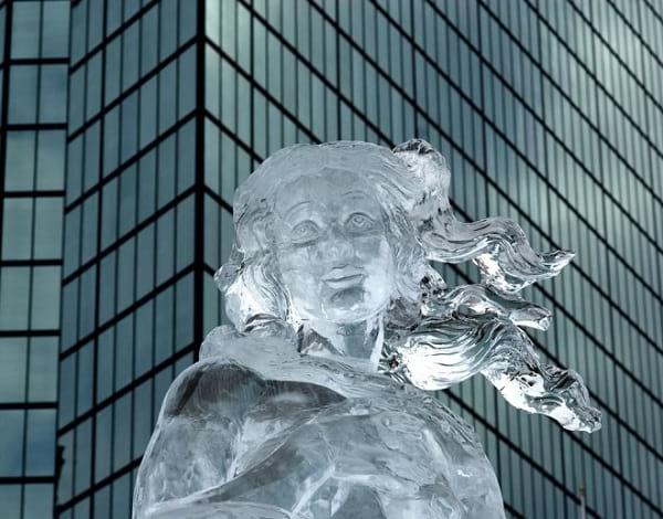 مجسمه یخی (2)
