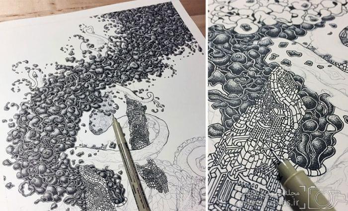 نقاشی با نقطه (5)