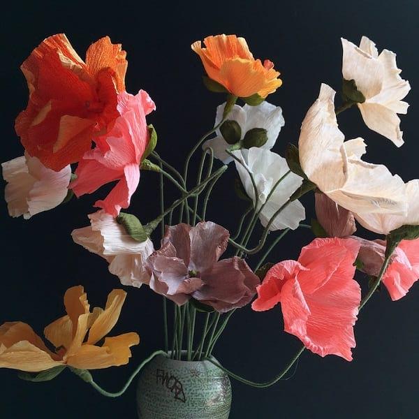 گل های کاغذی (1)