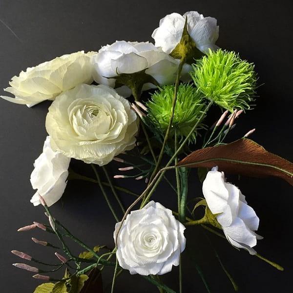 گل های کاغذی (20)
