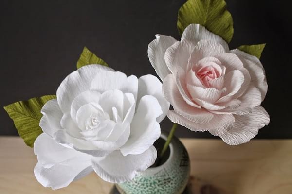 گل های کاغذی (7)