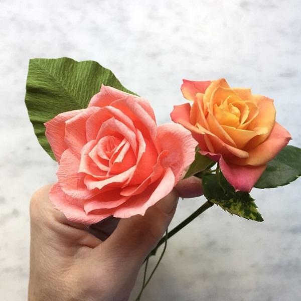 گل های کاغذی (9)
