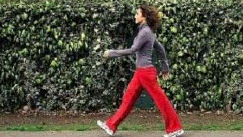 روش صحیح پیاده روی