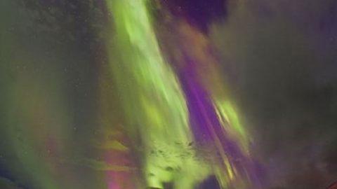 تصاویر زیبا و نادر از شفق قطبی