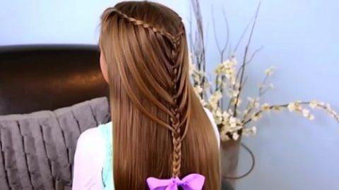 آموزش مدل موی بافت آبشاری فوق العده زیبا ۲۰۱۸ (ویدئو)
