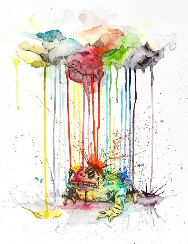 نقاشی آبرنگی (5)