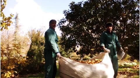 پاییز در اصفهان