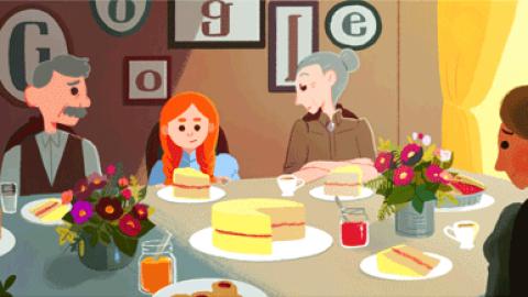 یادبود گوگل برای نویسنده داستان های جزیره و آن شرلی