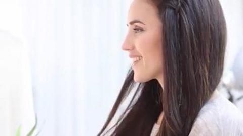 بافت مو برای جمع خودمونی (ویدئو)