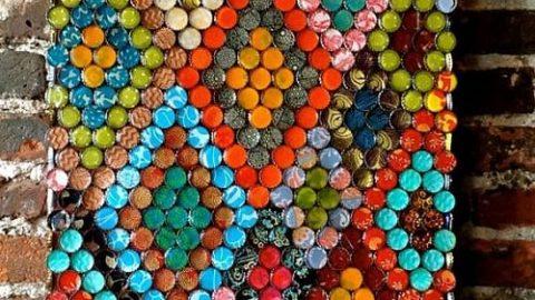 استفاده هنرمندانه از درهای بطری