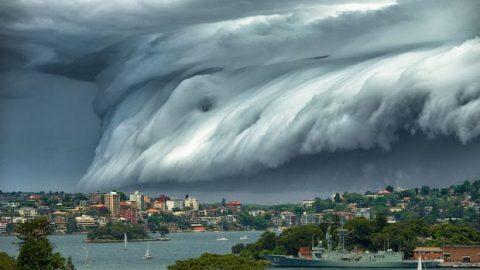 حماسه رعد و برق در سواحل سیدنی