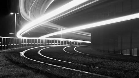 عکاسی با نور های شبانه
