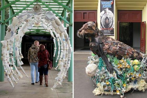 مجسه هایی از زباله (1)