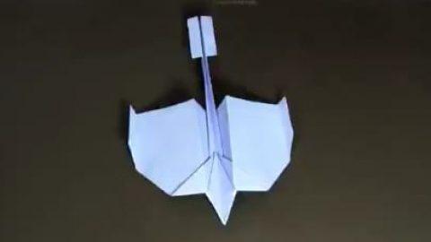 کاردستی هواپیما با کاغذ
