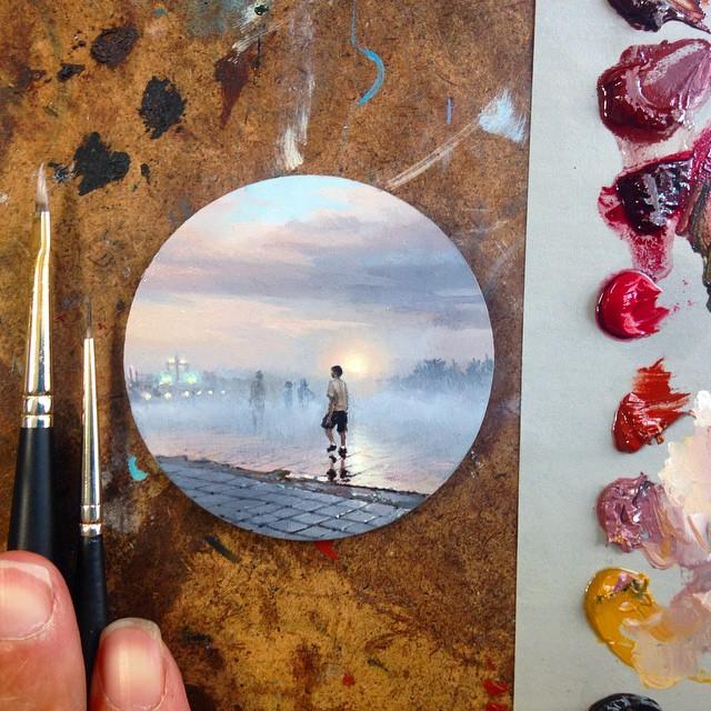 نقاشی با رنگ روغن (1)