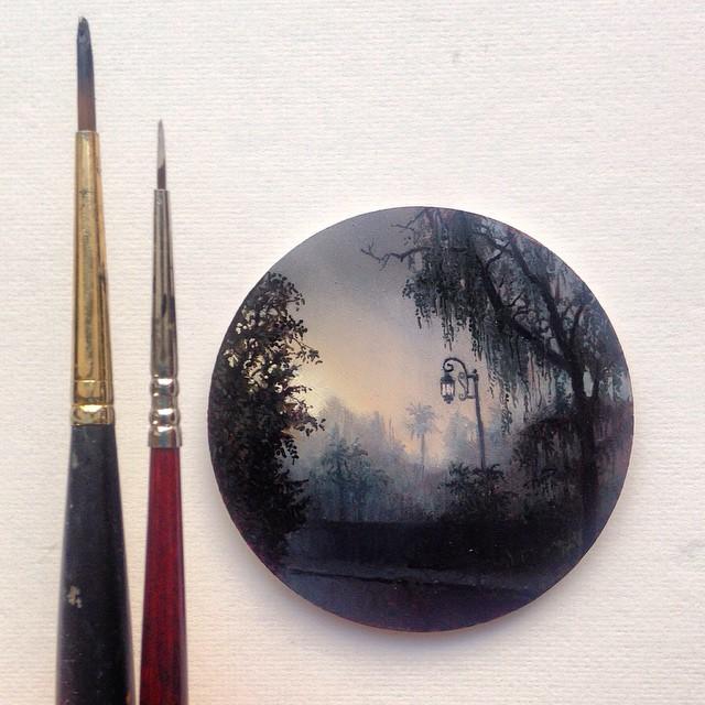 نقاشی با رنگ روغن (11)
