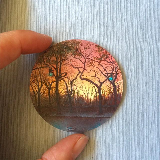 نقاشی با رنگ روغن (3)