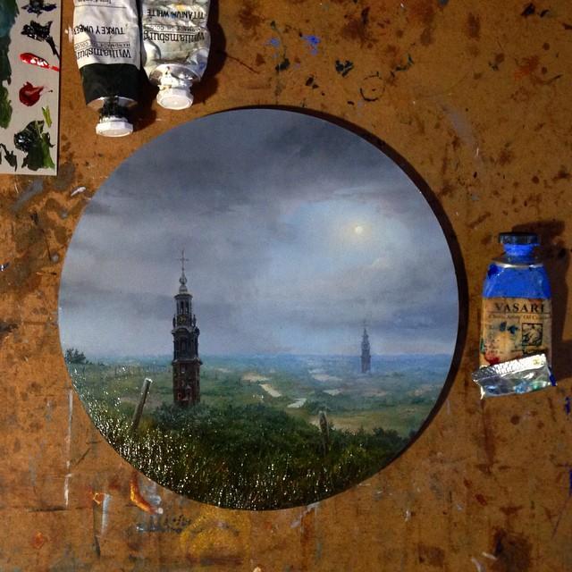 نقاشی با رنگ روغن (4)