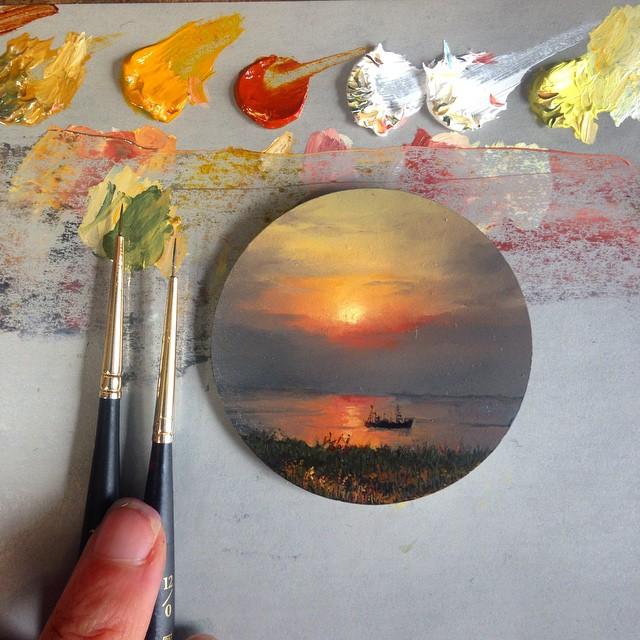 نقاشی با رنگ روغن (7)