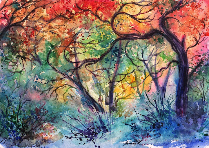 نقاشی های آبرنگ (6)