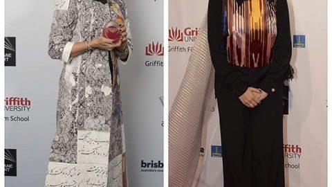 لباسهای خاص فاطمه معتمدآریا و نگار جواهریان در آسیاپاسفیک