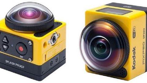 دوربین جدید کداک با زاویه دید ۳۶۰ درجه