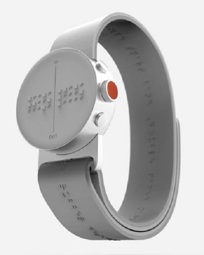 ساعت هوشمند برای نابینایان