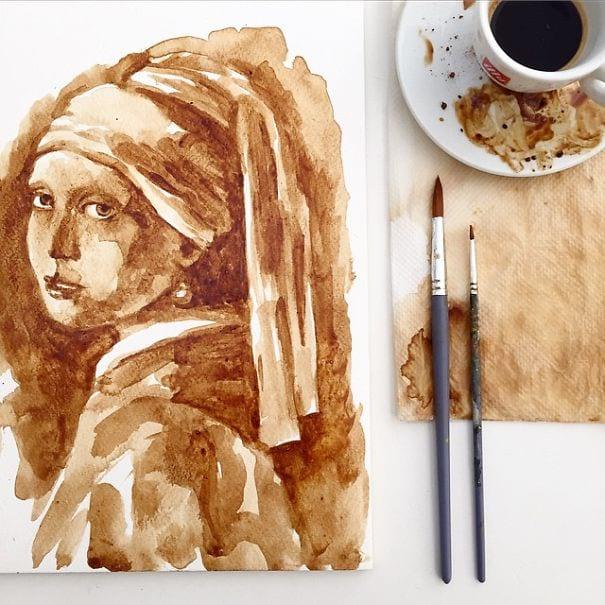 نقاشی با قهوه (16)