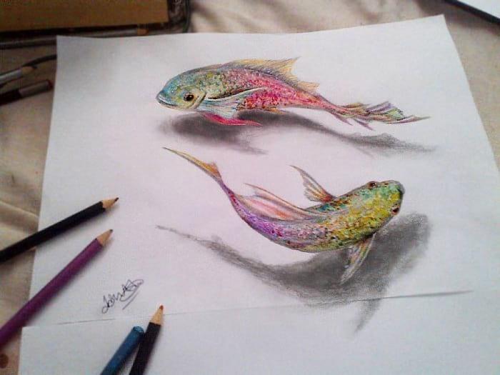 نقاشی های 3 بعدی (1)