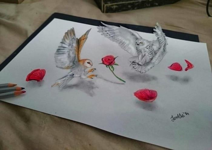 نقاشی های 3 بعدی (6)