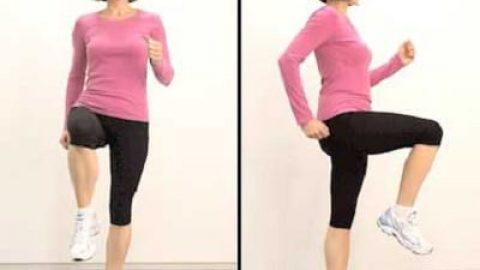 تمرینات ورزشی ۶ دقیقه ای مخصوص گرم کردن بدن