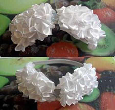 گل سر پاپیونی (6)