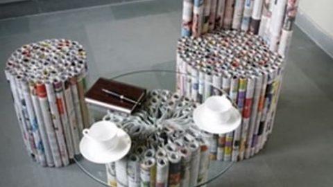 ایده های برای استفاده از روزنامه باطله