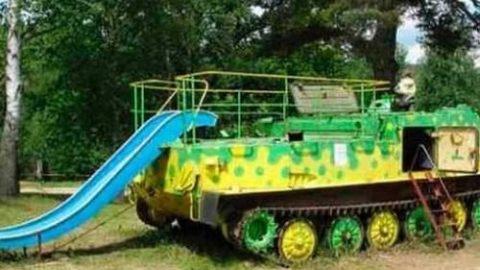 تانک های بازیافتی