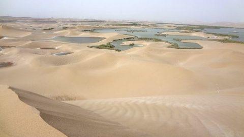 دریاچه در کویر یزد
