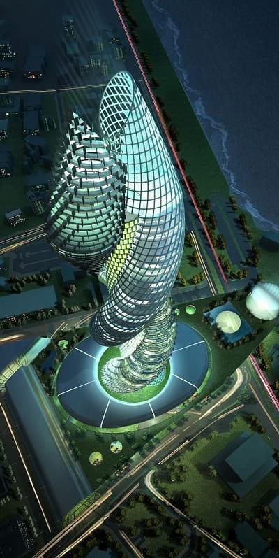 دیدنی ترین ساختمان های دنیا (4)