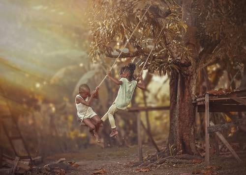 نشاط بازی با بچه ها (9)