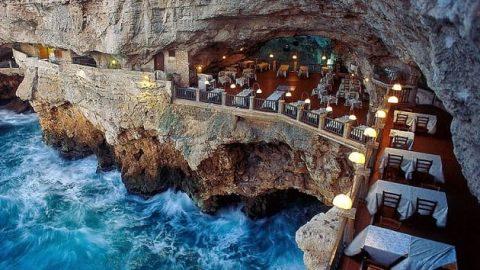 هتلی رمانتیک در دل غارهای آهکی