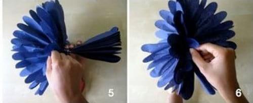 گل میخک کاغذی (2)
