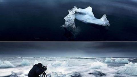 ذوب شگفت آور یخ ها