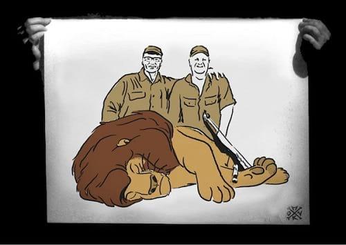 شکار حیوانات کارتونی دیزنی (1)