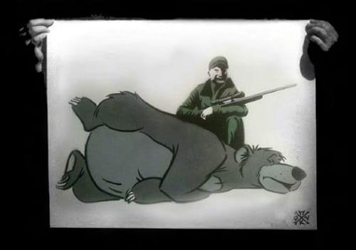 شکار حیوانات کارتونی دیزنی (2)