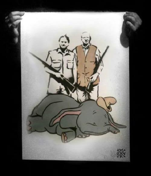شکار حیوانات کارتونی دیزنی (3)