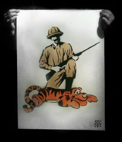 شکار حیوانات کارتونی دیزنی (5)