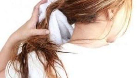با موی خیس نخوابید، خطرناک است!