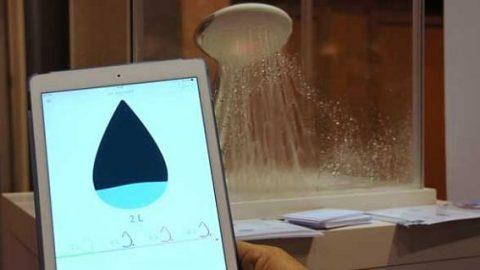 این سر دوش هوشمند از هدر رفتن آب جلوگیری می کند!