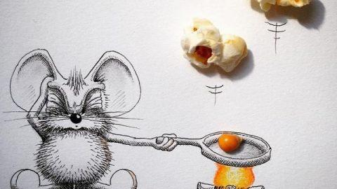 وقتی یک موش بخشی از دنیای واقعی می شود